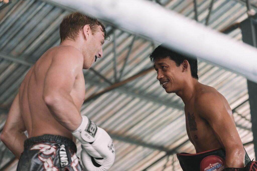 training at rawai muay thai to fight muay thai in thailand