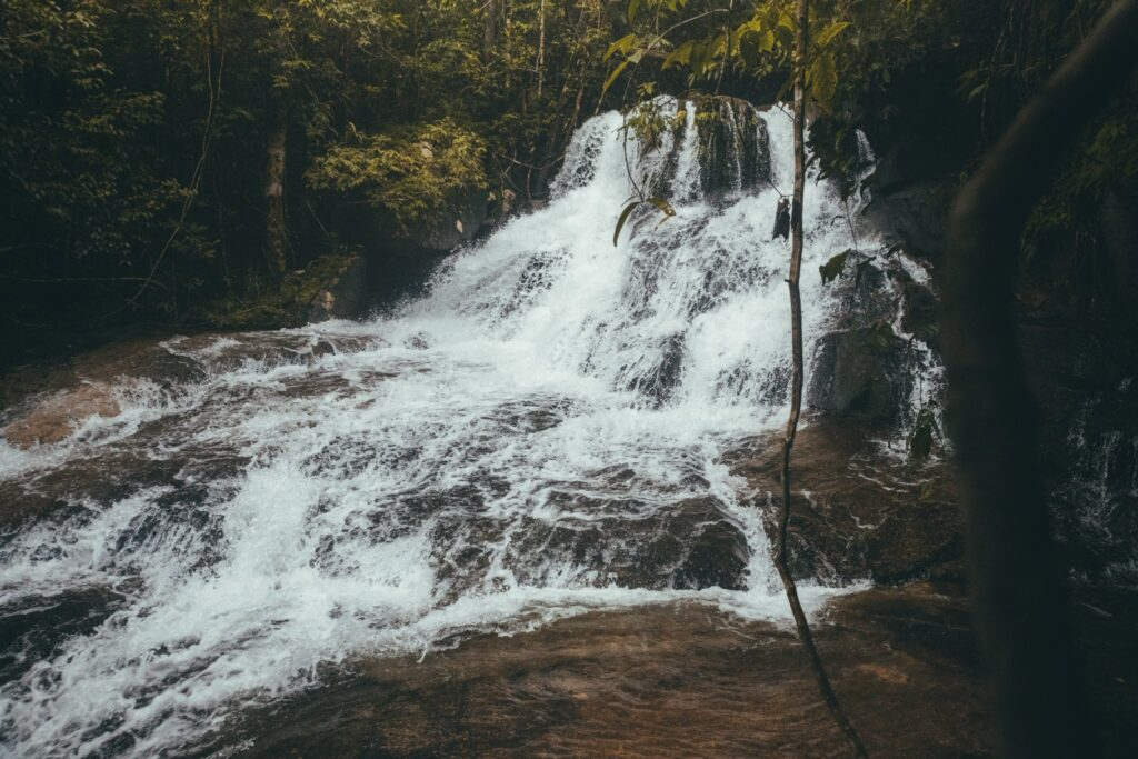 things to do on khao lak is check out sai rung waterfall