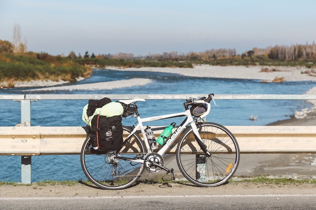 cycling christchurch to queenstown on a road bike