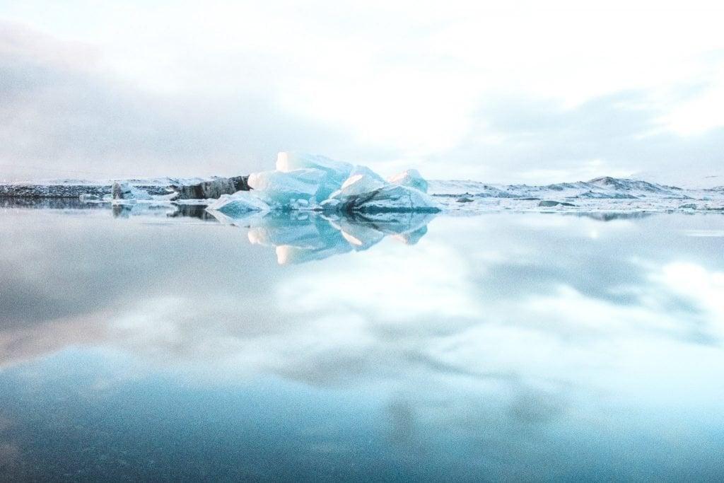iceland on a budget glacier lake