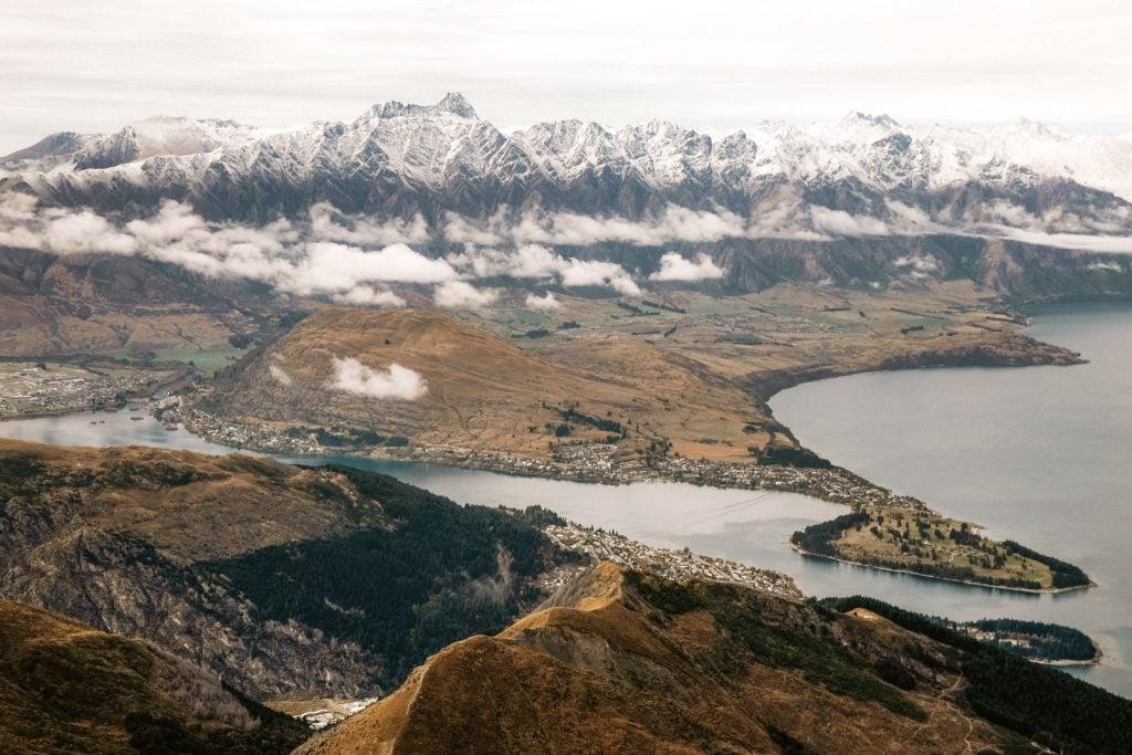 Views of hiking ben lomond