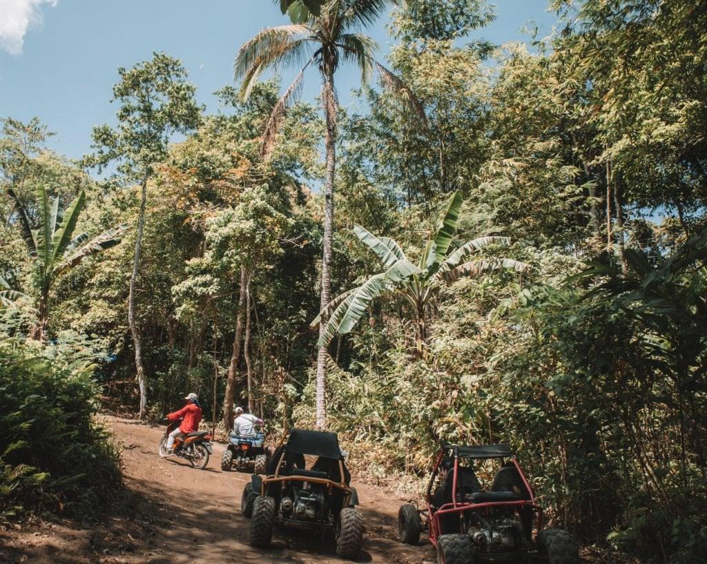 Riding ATV in Bohol