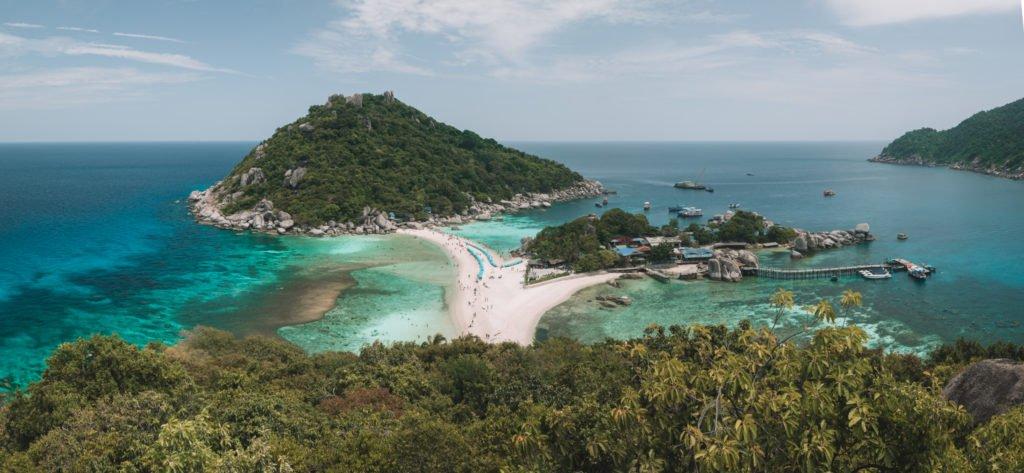 nang yuan island beaches on koh tao