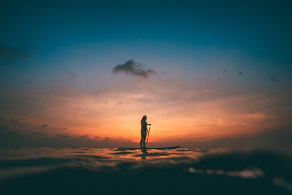 best things to do on koh tao - sunset sup