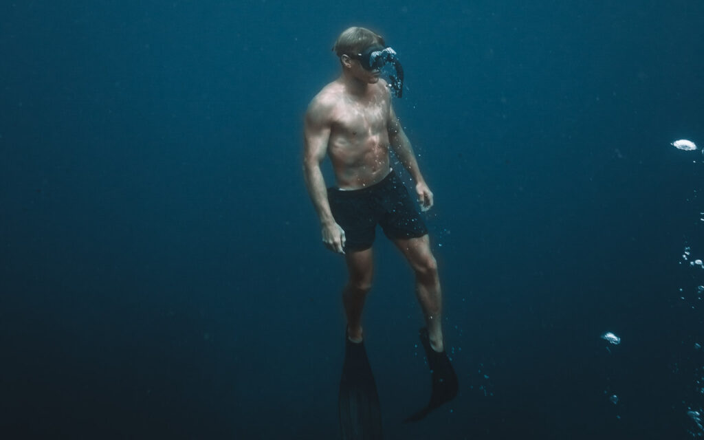 FREE DIVING ON KOH TAO THAILAND