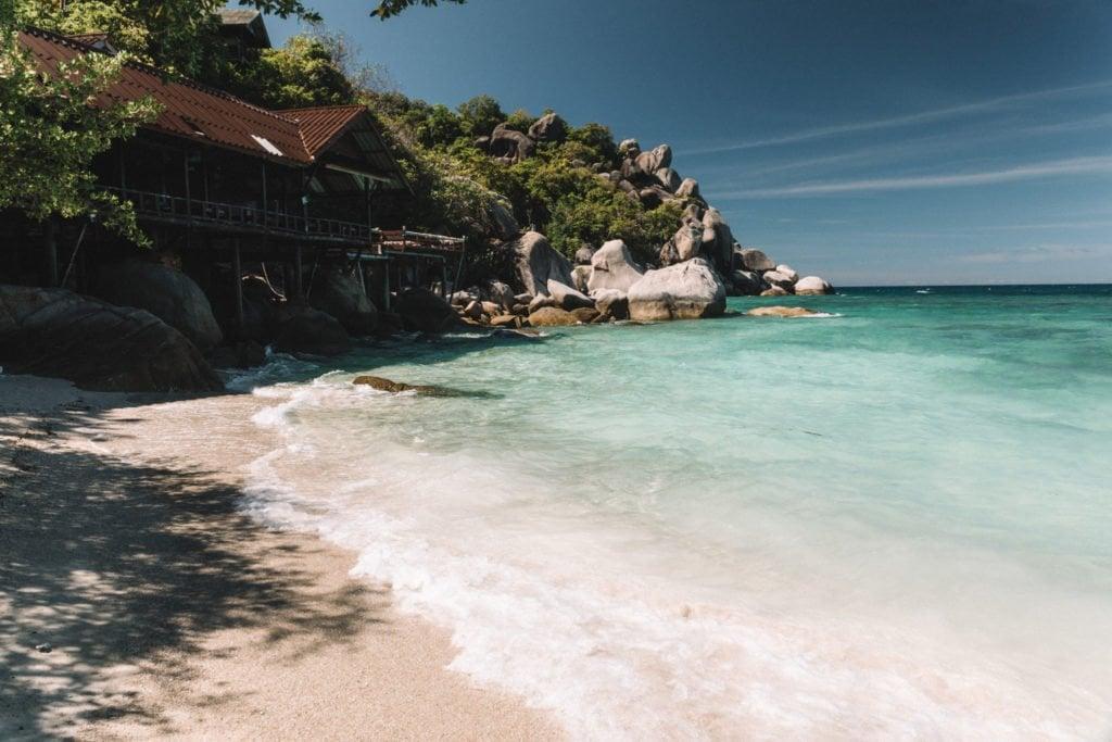 freedom beach beaches on koh tao