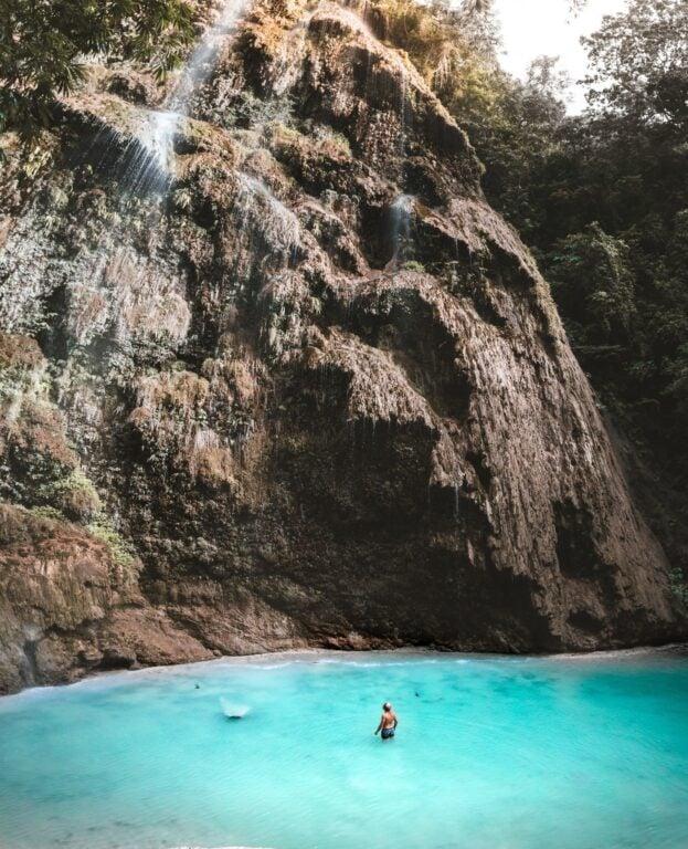 Tumalog Waterfall in Cebu