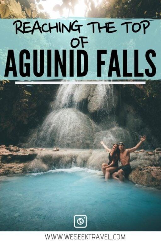 aguinid falls pinterest pin weseektravel