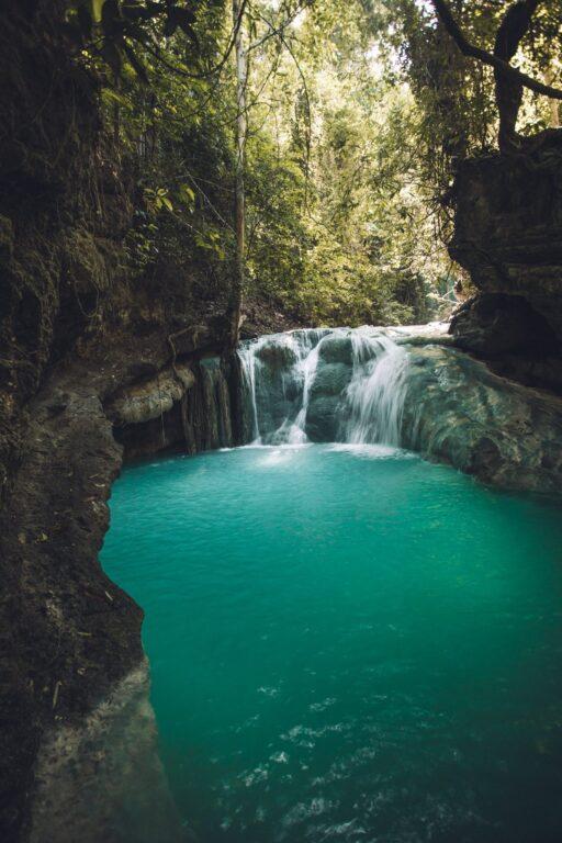 Aguinid Falls Cebu level 2