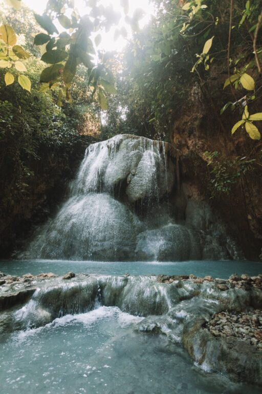 aguinid waterfall travel cebu