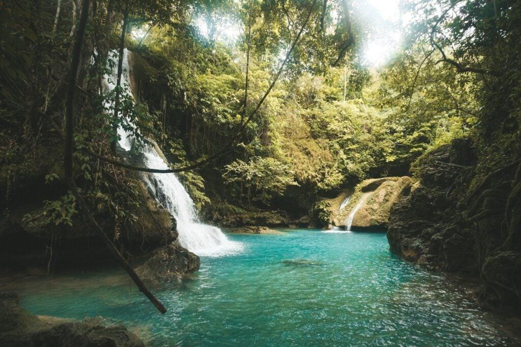 Cambais falls level 2 waterfall
