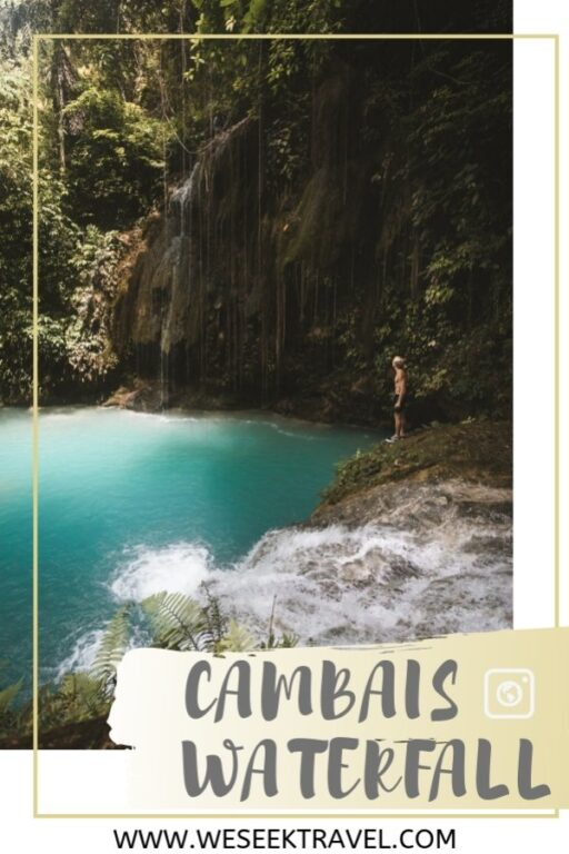 Pinterest Pin Cambais Falls Alegria Cebu