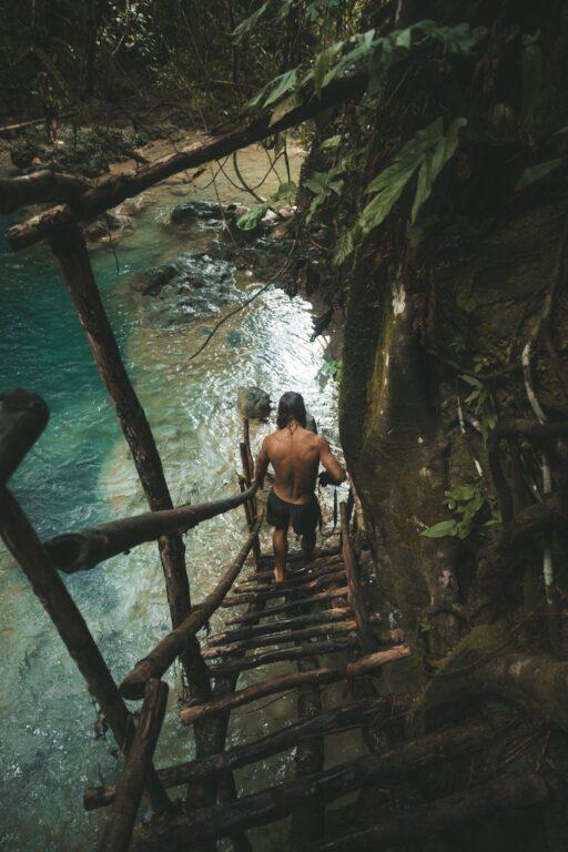 cambais waterfall in cebu