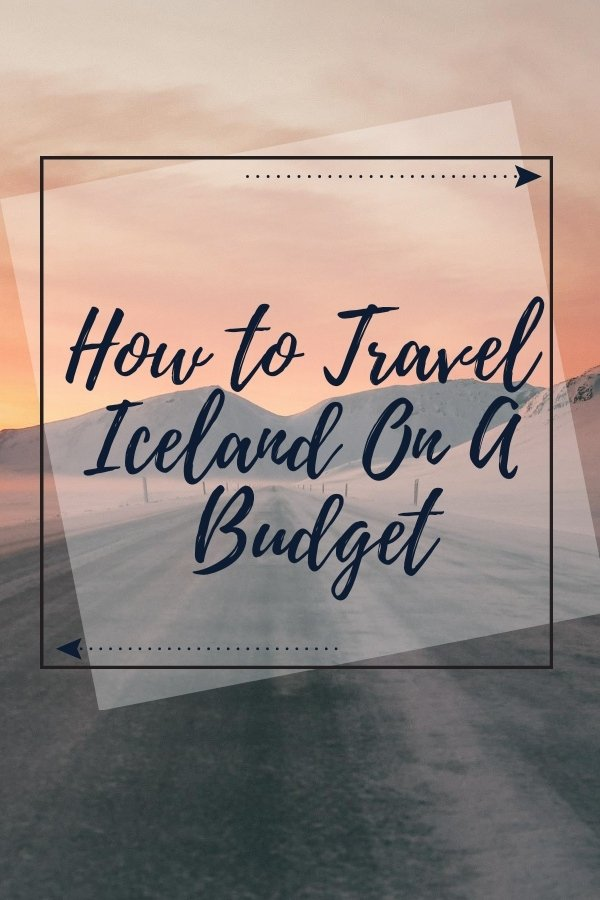 weseektravel pinterest pin for how to travel iceland on a budget