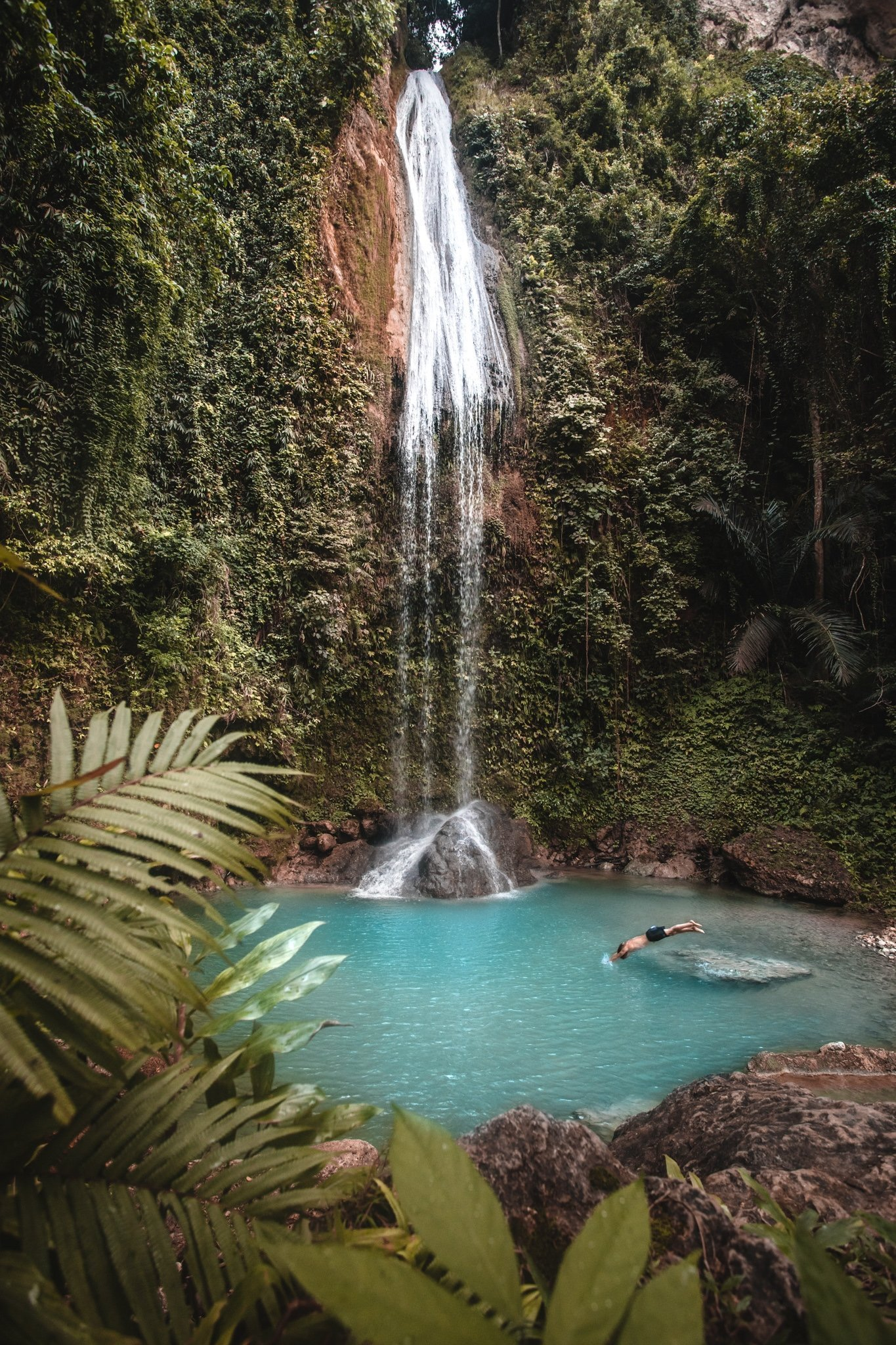 Montpellier Waterfall swimming