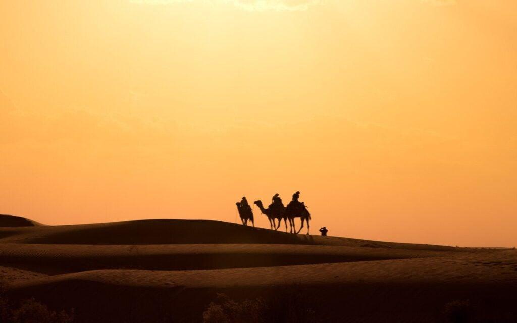OVERNIGHT CAMEL SAFARI JAISALMER DESERT