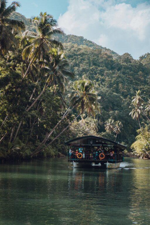 boat on loboc river