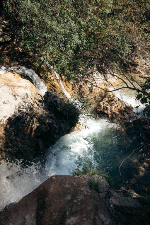 SWIMMING AND HIKING AT NEER GARH WATERFALL IN RISHIKESH