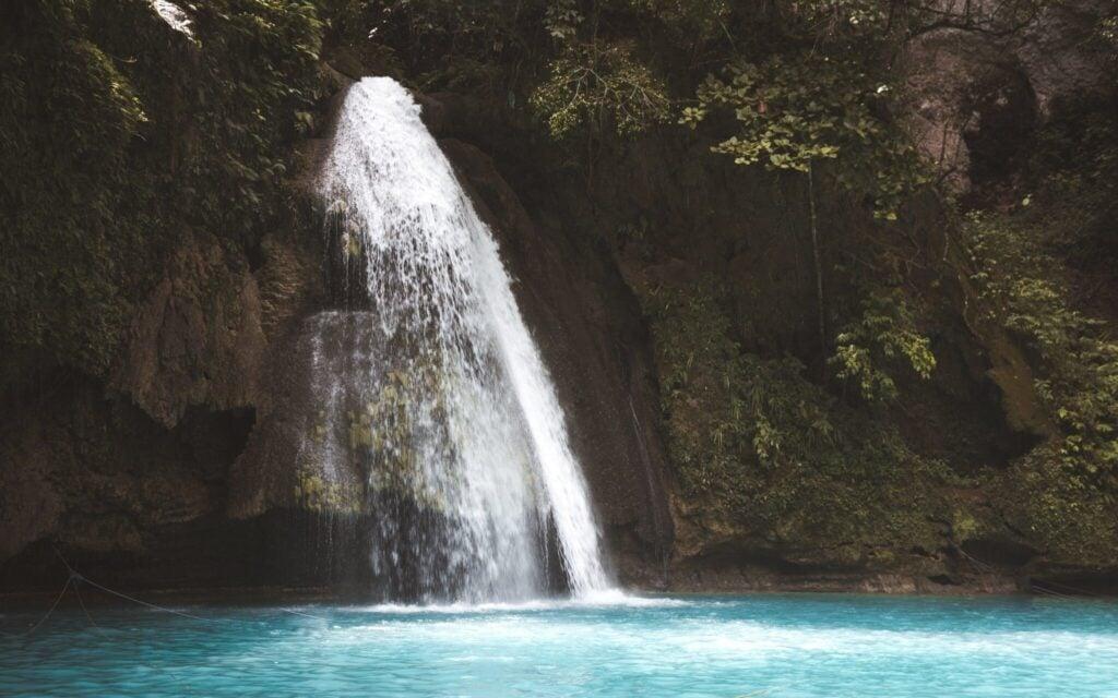 Kawasan falls best Cebu waterfalls in the philippines