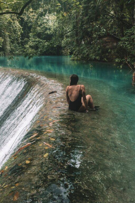 waterfall in Badian Cebu