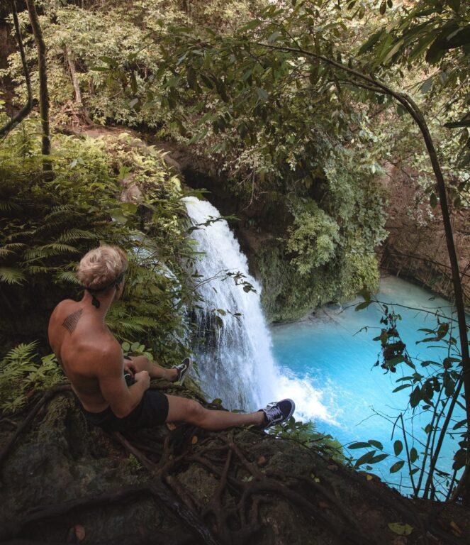 Exploring waterfalls on Cebu Island, Philippines