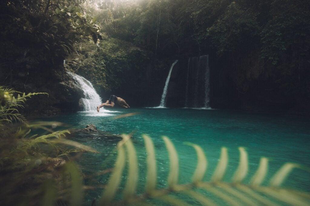 Kawasan Falls level two