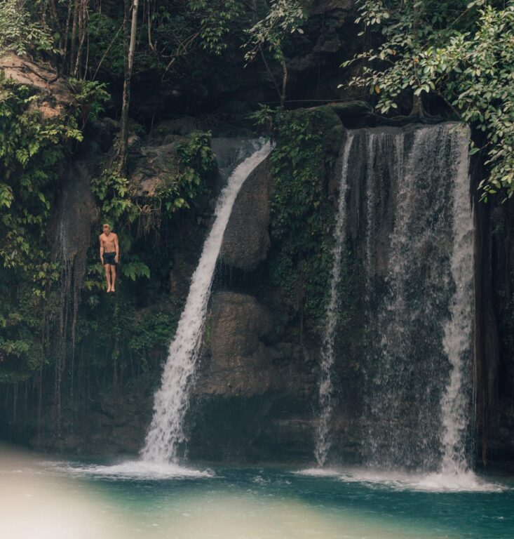 Kawasan Falls Canyoneering in Cebu, Philippines