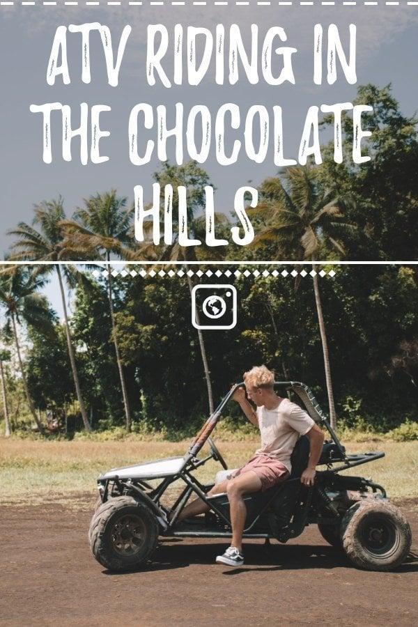 weseektravel pin for chocolate hills atv bohol