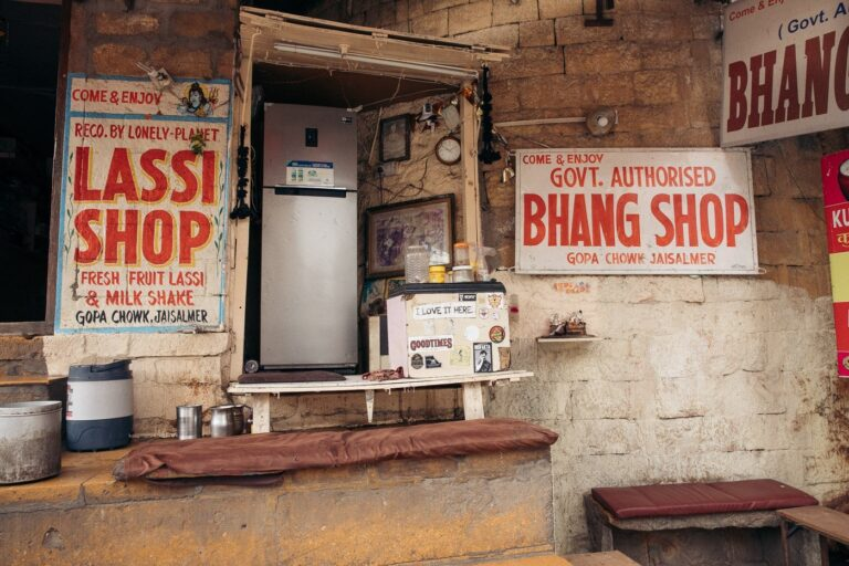Bhang shop in jaisalmer