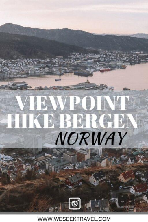 VIEWPOINT HIKE BERGEN NORWAY