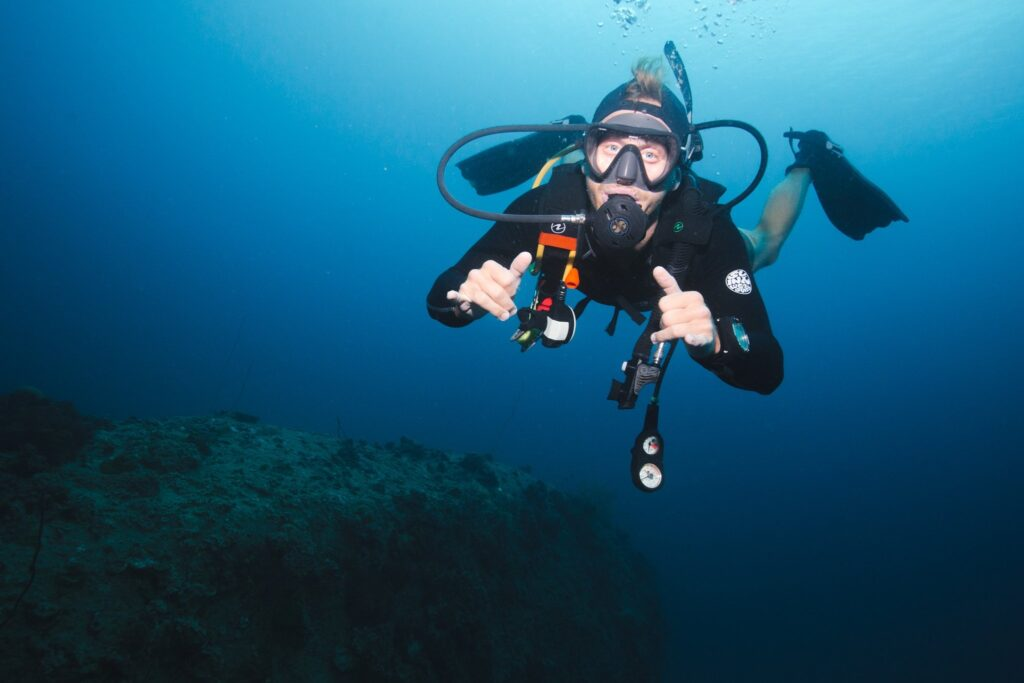 Scuba diving as a digital nomad