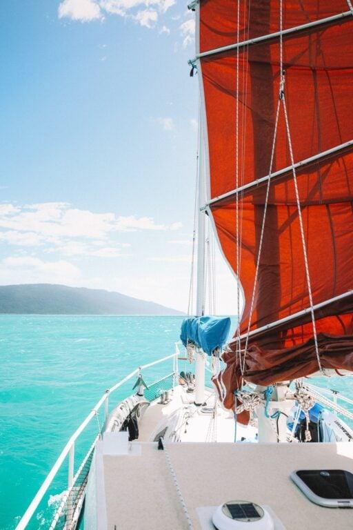 Sailing to Airlie Beach, Sailing Up the East Coast of Australia