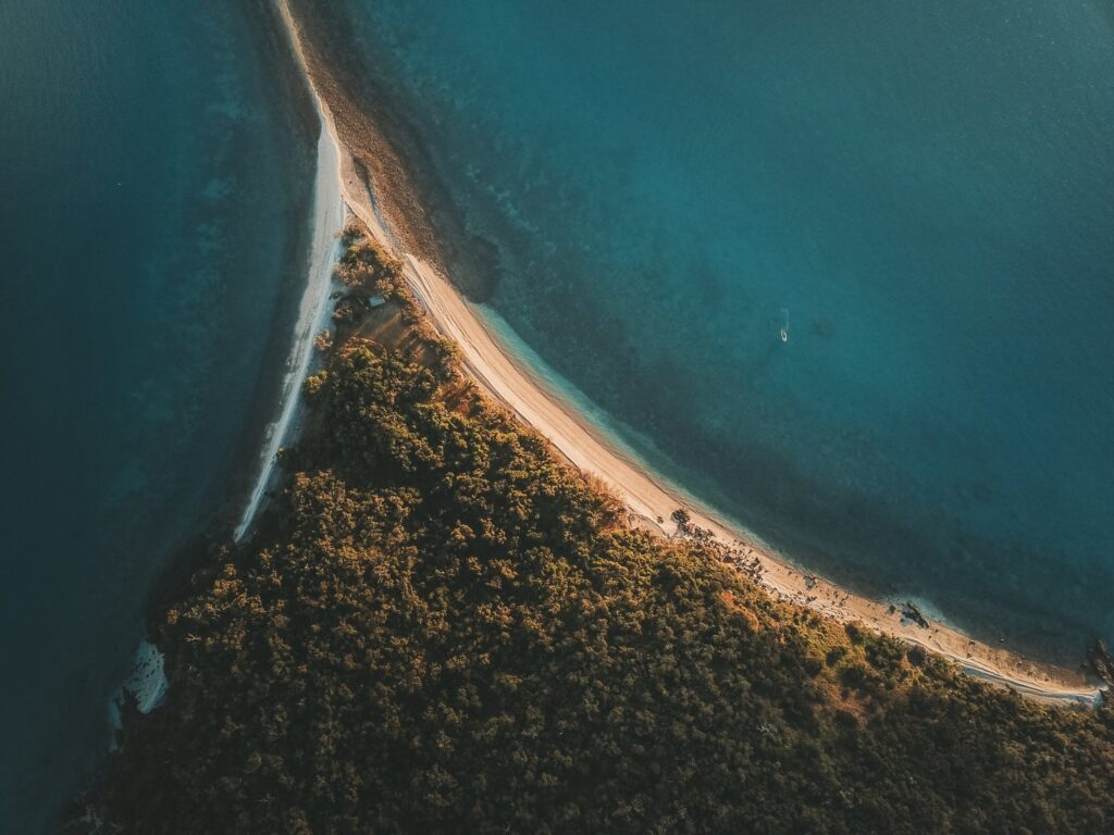 South Molle Island Drone