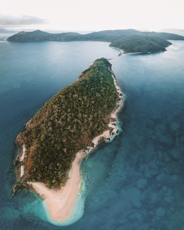 South Molle Island in whitsundays queensland