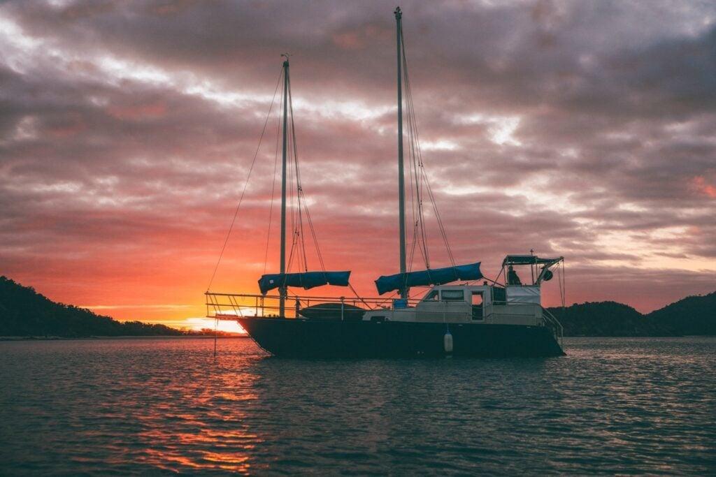 Sailing Up the East Coast of Australia