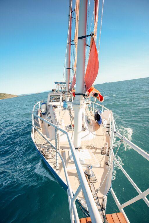 sailing to whitehaven beach, Sailing Up the East Coast of Australia