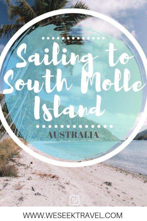 sailing log sailint to south molle island queensland