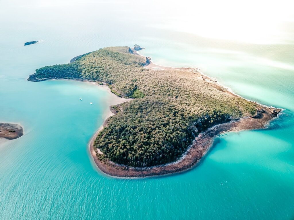 Outer Newry Island Drone Photo