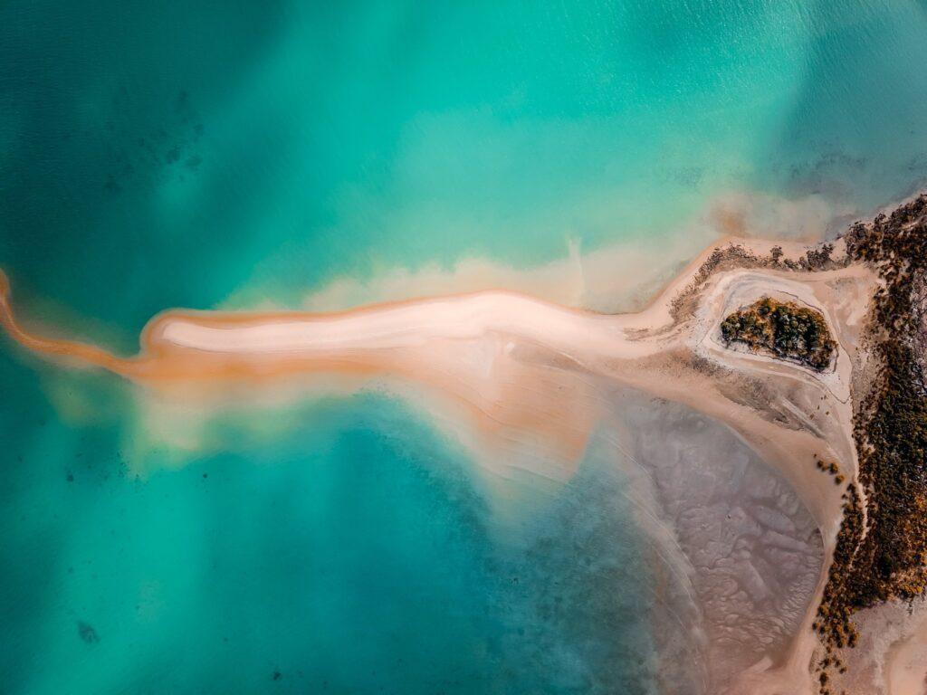 mackay coast aerial photography