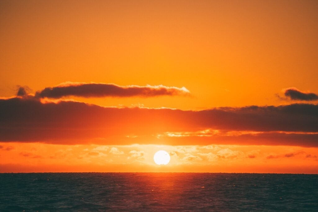 SAILING SUNRISE ABBOT POINT