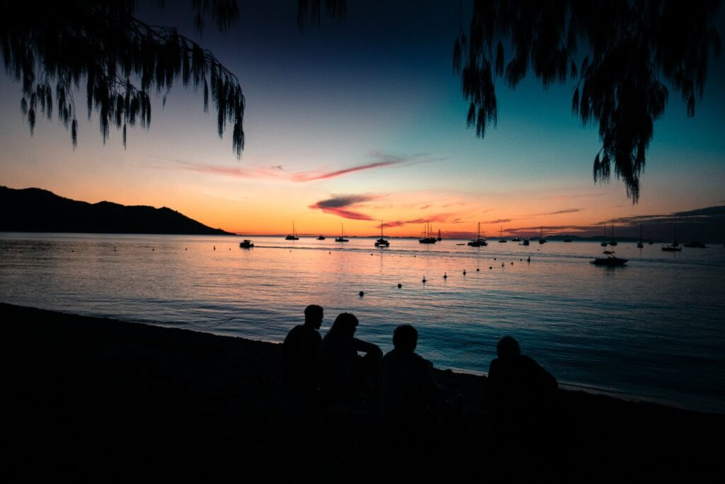 Horseshoe Bay sunset view