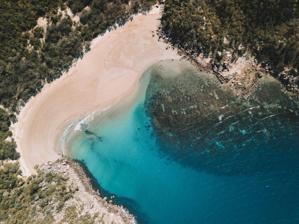 Geoffrey Bay Magnetic Island Aerial