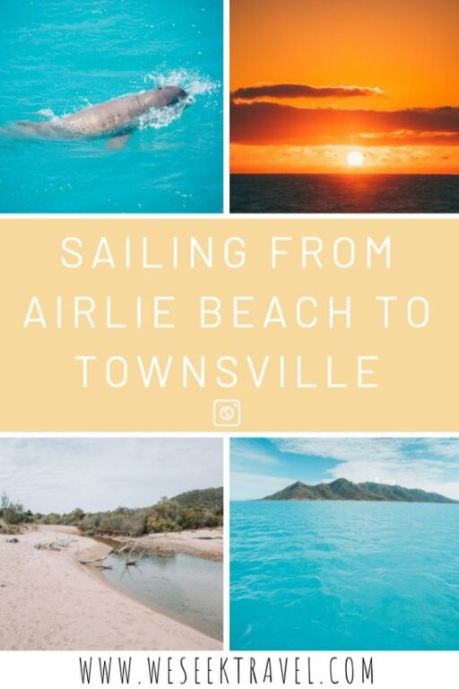 Sailing from Airlie Beach to Townsville