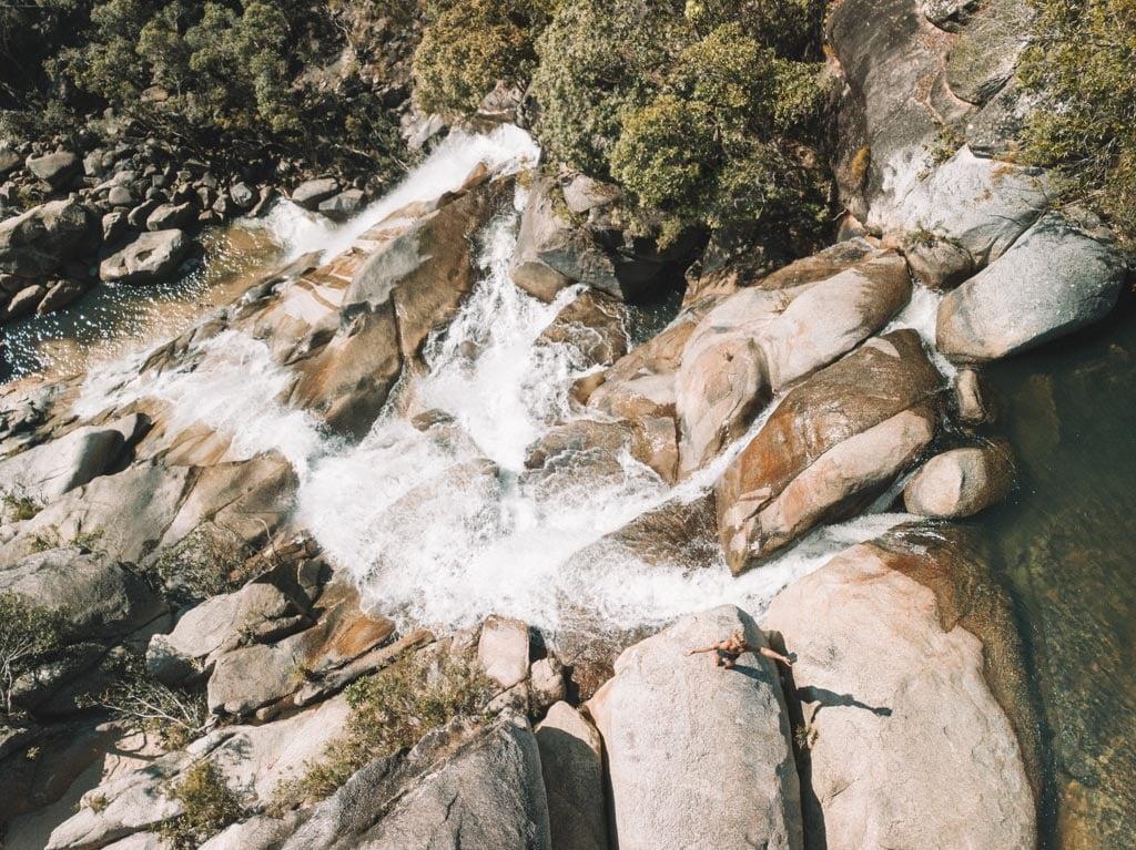 BEST WATERFALLS NEAR CAIRNS DAIVES CREEK FALLS
