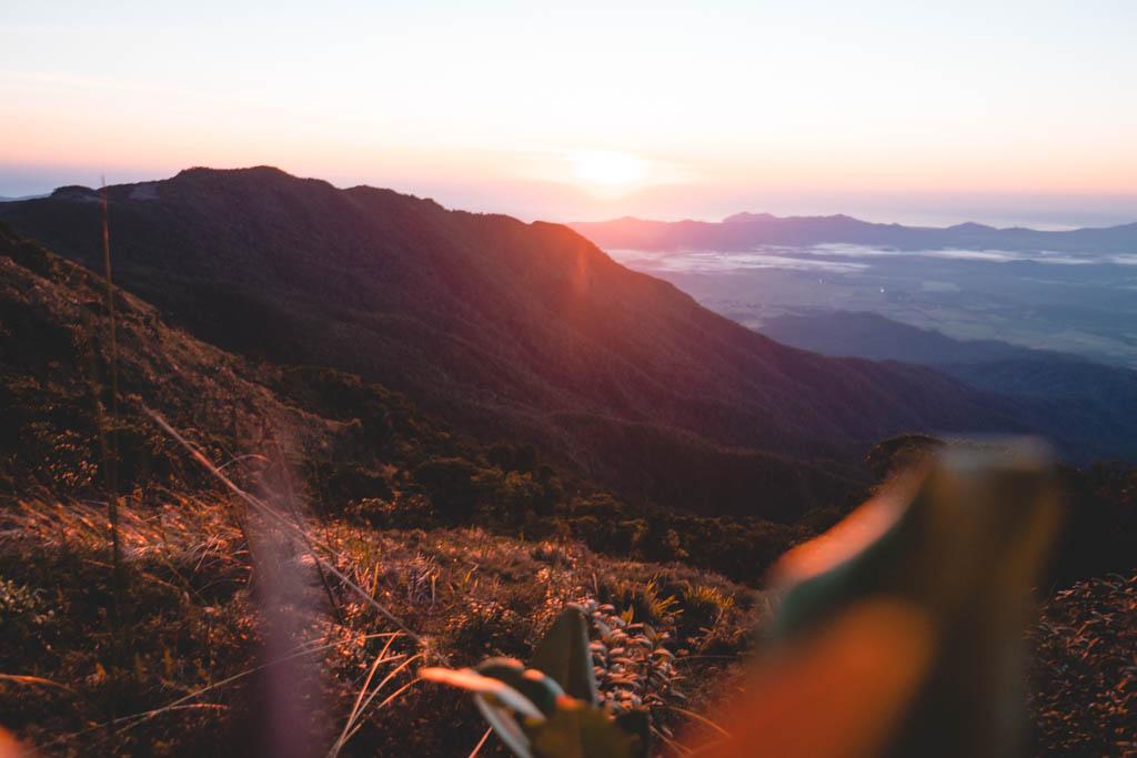 SUNRISE AT MOUNT BARTLE FRERE,