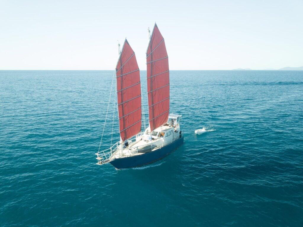 Junk Rig sailing