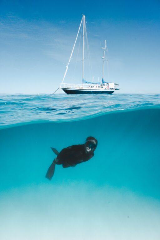Snorkeling at Michaelmas Cay