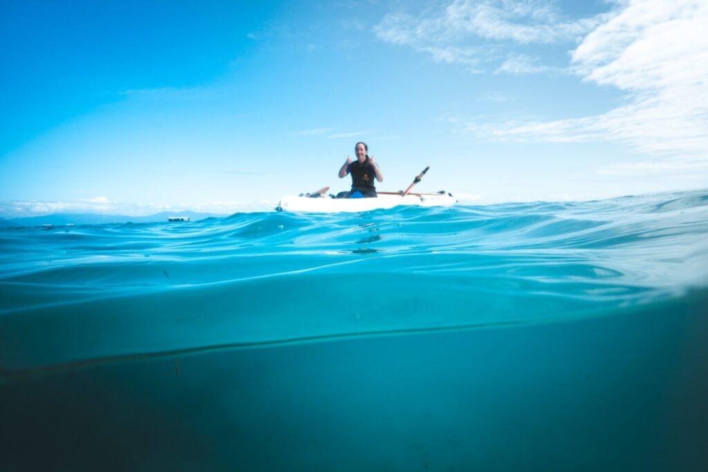 Kayaking at Green Island