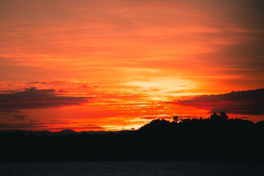 SUNSET AT CAIRNS