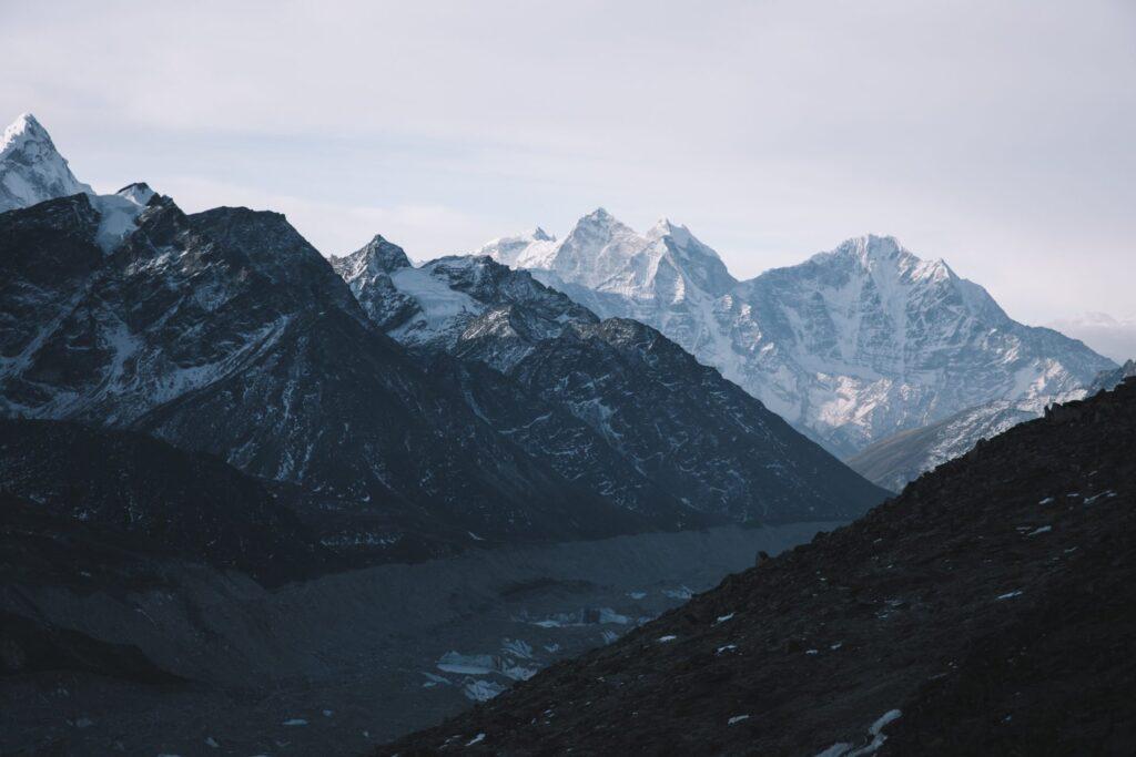 Three Passes and Everest Base Camp Trek from Gorak Shep